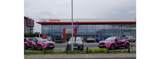 Spin broadcast live from Toyota Liffey Valley
