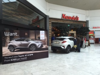 High interest in the New Toyota C-HR in Liffey Valley