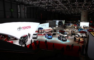2017 Toyota at the 2017 Geneva International Motor Show