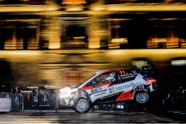 Rally Mexico : day one (Thursday)