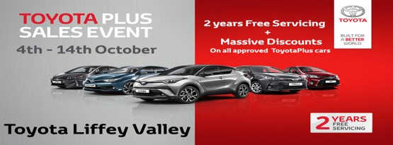 Toyota Plus Used Car Sale