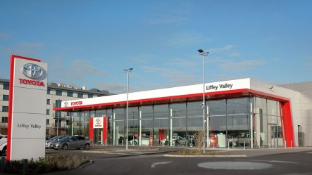 Toyota Liffey Valley Opens Creating 40 New Jobs.