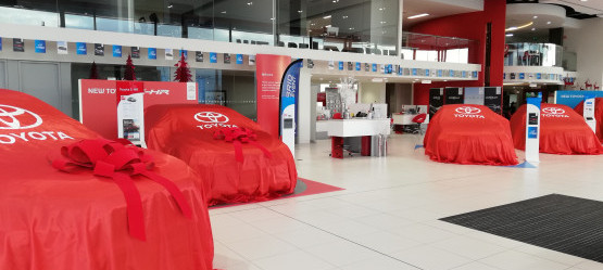 Four New Toyota Hybrid Models unveiled during Roadshow at Toyota Liffey Valley