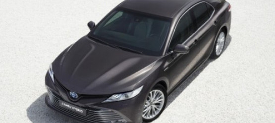 New Camry Hybrid at the 2018 Paris Motor Show