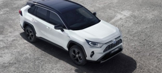 New RAV4 Hybrid at the 2018 Paris Motor Show