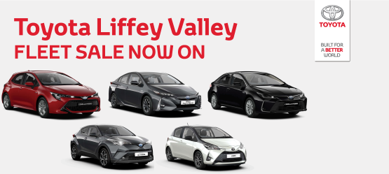 Toyota Liffey Valley Fleet Sale